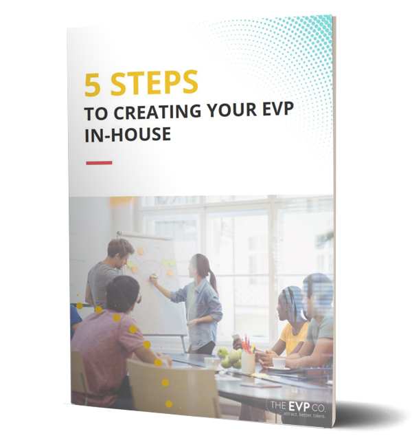 5steps to creating your evp inhouse booklet